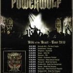 Powerwolf - Bible of the Beast Tour 2010 (Garage, Saarbrücken)