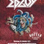 Edguy - Age of the Joker - European Tour 2011 mit Kottak (Garage, Saarbrücken)