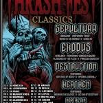 Thrashfest Classics 2011 mit Exodus, Sepultura, Destruction, Heathen (Garage, Saarbrücken)