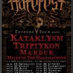 Hatefest 2011 mit Kataklysm, Triptykon, Marduk, Milking the Goatmachine, Azarath, Dawn of Disease (Garage, Saarbrücken)